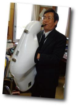 e-Sax開発協力者 北山 敦康 氏